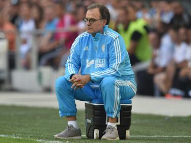Marcelo Bielsa en su etapa como entrenador del Olympique de Lyon (Foto: Getty)