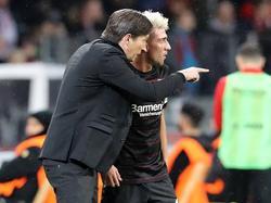 Roger Schmidt coachte Kevin Kampl bereits in Leverkusen