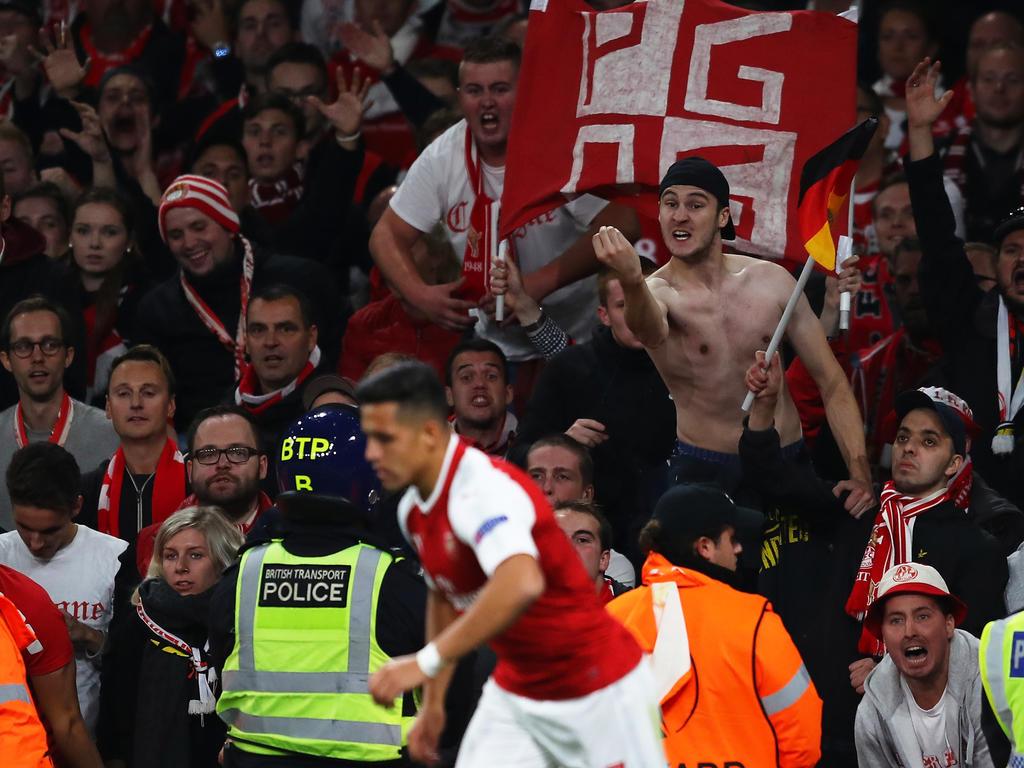 Die Kölner Fans dominieren die Schlagzeilen