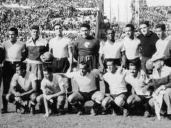 Symbolbild: So präsentierte sich das das Nationalteam Uruguays um 1950