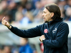 Darf sich über einen Neuzugang freuen: FSV-Trainer Martin Schmidt