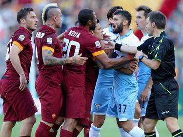 Los derbis entre la Roma y la Lazio siempre son emocionantes. (Foto: Getty)