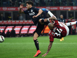 Das Derby am Sonntag zwischen Inter und AC Milan