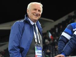 Giovanni Trapattoni glaubt an ein Weiterkommen der Italiener
