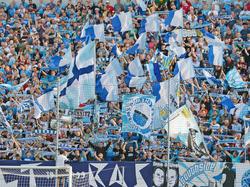 Die Chemnitz-Fans mussten einen Last-Minute-Gegentreffer schlucken