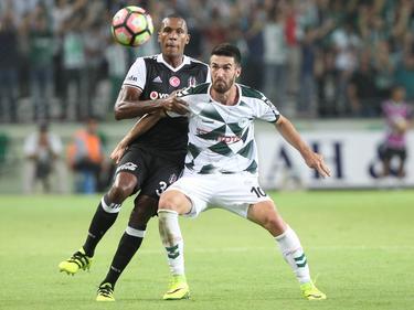 Rijad Bajić (r.) soll auf dem Zettel von Borussia Mönchengladbach stehen