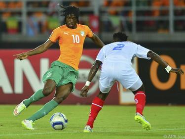 Gervinho erzielt für die Elfenbeinküste das wichtige zweite Tor