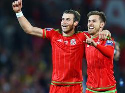 Bale (l.) und Ramsay sind Schlüsselspieler der Waliser