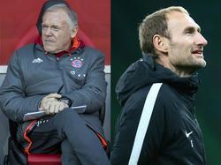 Hermann Gerland (l.) und Jochen Sauer leiten das Nachwuchsleistungszentrum des FCB