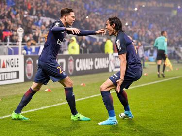 Draxler (l.) brachte PSG auf die Siegerstraße