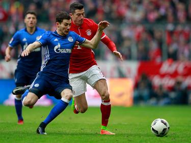 Leon Goretzka (l.) und Robert Lewandowski könnten in Zukunft in einer Mannschaft spielen