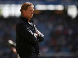 Markus Gisdol hofft, dass die nächste Saison des HSV ruhiger wird