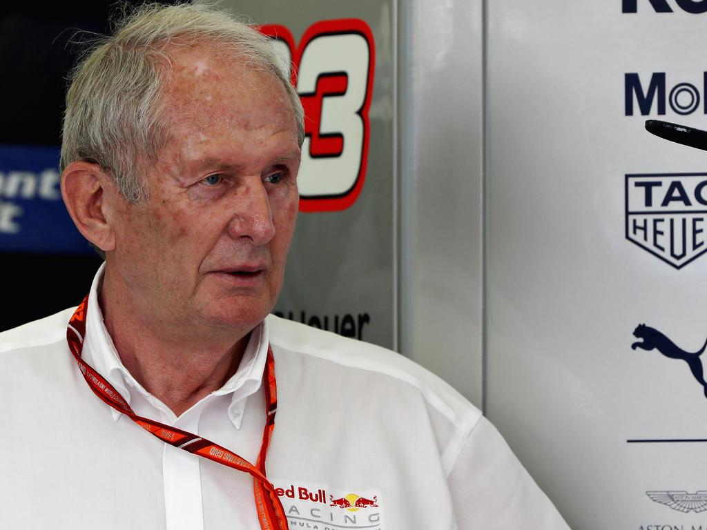 Helmut Marko ist mit dem Renault-Motor auch weiterhin nicht glücklich