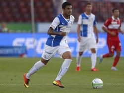 Per Freistoß sorgte Caio für den 2:0-Endstand.