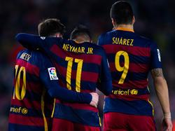 Messi, Neymar und Suárez wirkten im Saisonendspurt nicht immer ganz fit