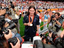 2008 in Peking holte Messi mit Argentinien Gold