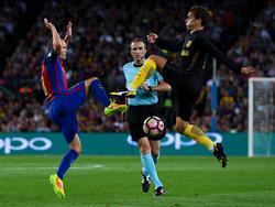 Der FC Barcelona musste sich gegen Atlético mit einem Punkt zufrieden geben