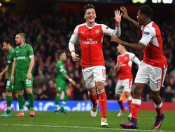 Mesut Özil war der überragende Mann in London