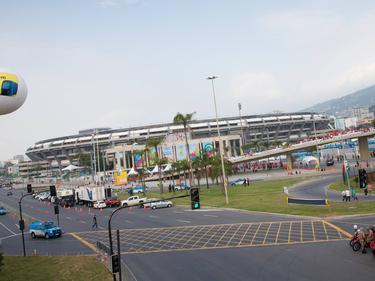 Das Maracanã-Stadion in Rio de Janeiro ist derzeit in einem desolaten Zustand