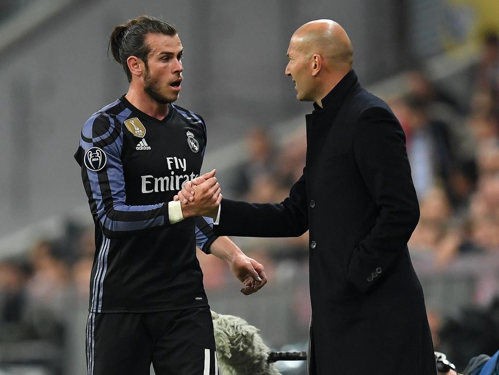 Gareth Bale ist gegen den FC Barcelona wohl einsatzbereit
