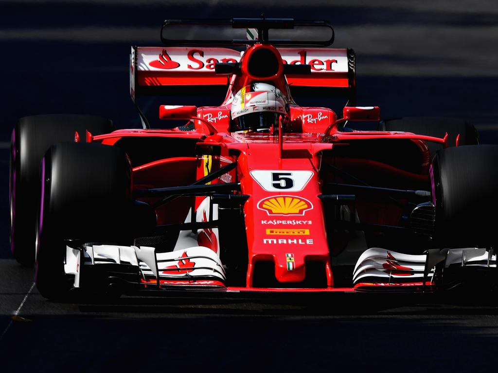 Sebastian Vettel hat das zweite Training im Fürstentum dominiert