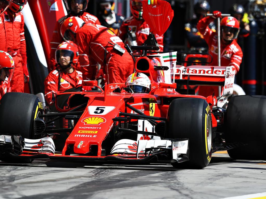 Sebastian Vettel und Ferrari wollen überall die Besten sein