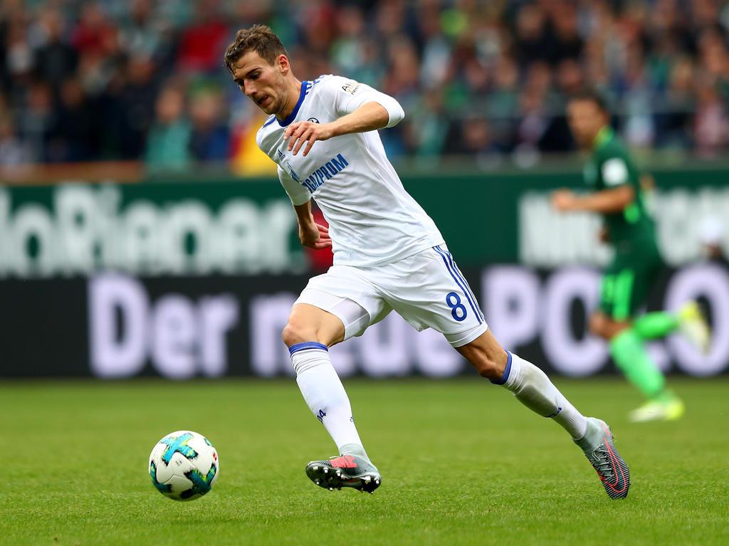 Leon Goretzka spielt seit 2013 für Schalke 04