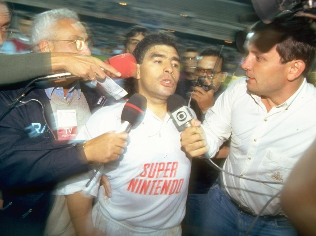 Diego Maradona war 1992 beim HSV im Gespräch