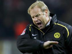 Jürgen Röber während seiner Zeit als BVB-Coach