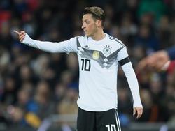 Ozil jugó de inicio en la selección germana. (Foto: Getty)