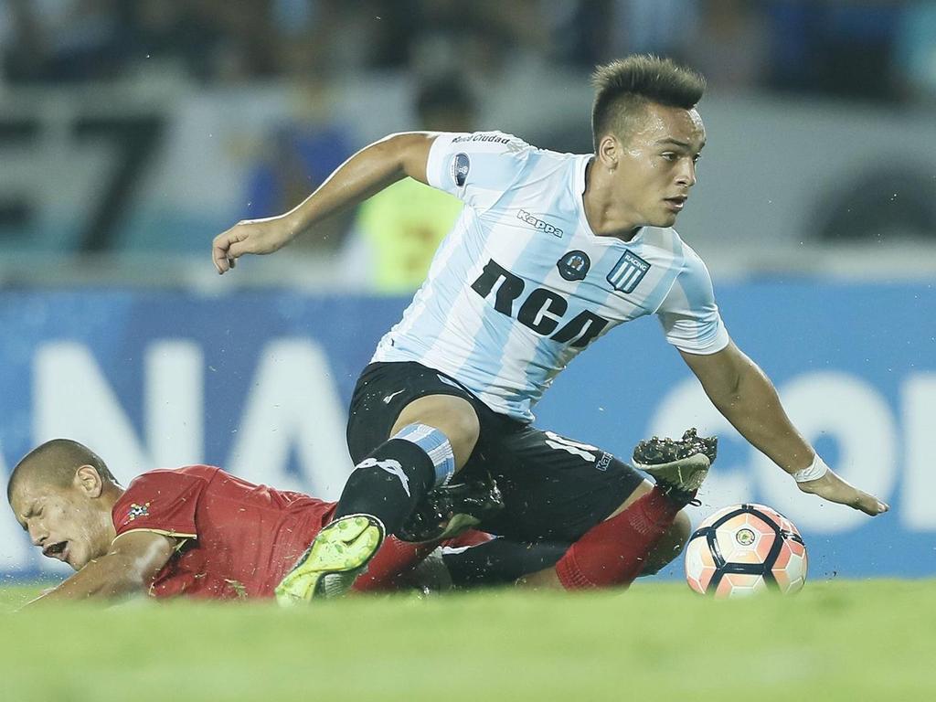 Lautaro Martínez könnte im Sommer Racing Club verlassen