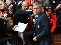 Schreibt José Mourinho bald Autogramme für United-Fans?