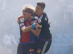 Basel feiert den siebenten Meistertitel in Folge