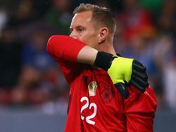 Marc-André ter Stegen patzte einmal mehr im DFB-Trikot