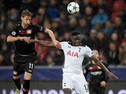 Stefan Kießling und die Leverkusener kamen nicht über ein 0:0 hinaus