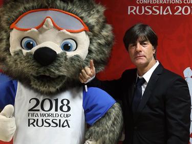 Joachim Löw wohnte der Confed-Cup-Auslosung bei
