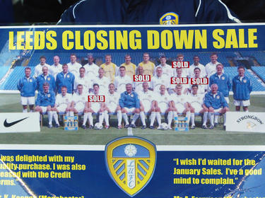 Ausverkauf 2003: Leeds United in der großen Finanzkrise