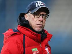 Peter Stöger arbeitet seit vier Jahren beim 1. FC Köln