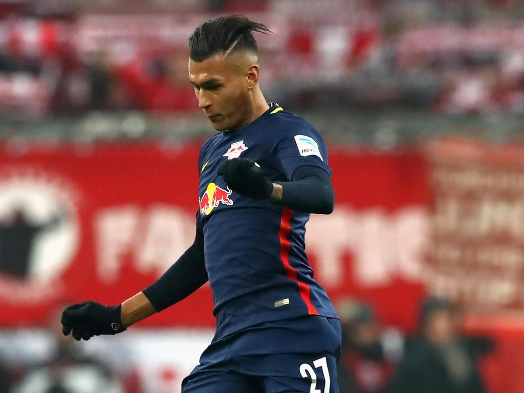 RB-Stürmer Davie Selke will sich zurück ins Team kämpfen