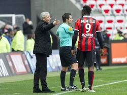 Mario Balotelli steht in Nizza unter Druck