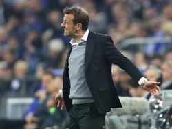 """Markus Weinzierl beklagte nach dem Spiel eine """"äußerst bittere"""" Niederlage"""