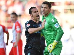 Die Löwen durften sich über ein glückliches 1:1 gegen Regensburg freuen
