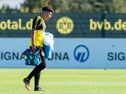 Jadon Sancho kam beim BVB bislang nicht zum Einsatz