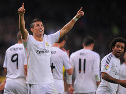 Cristiano Ronaldo will im Copa-del-Rey-Finale jubeln