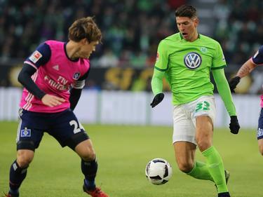 Mario Gomez hat den VfL Wolfsburg zum Sieg gegen den HSV geschossen