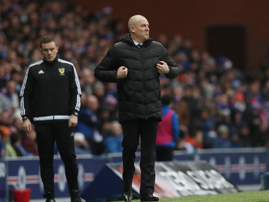 Verwirrung um Rangers-Manager Mark Warburton