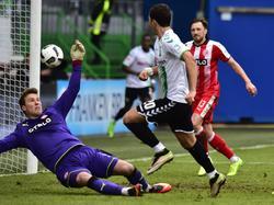 Keeper Michael Rensing und Fortuna Düsseldorf werden nach der Niederlage in Fürth weiter durchgereicht