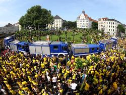 Ganz Dortmund war am Sonntag eine Feiermeile