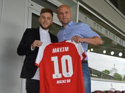 Alexandru Maxim unterschrieb einen Vertrag bis 2021 (Bildquelle: FSV Mainz)