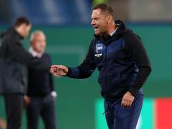 Pál Dárdai hat die Randale in Rostock schnell abgehakt